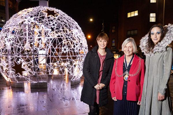 Switching on Kingston's Christmas Lights
