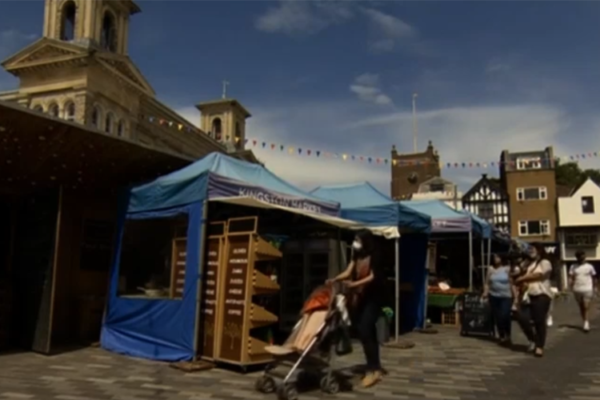Kingston on BBC News, 23 July 2020