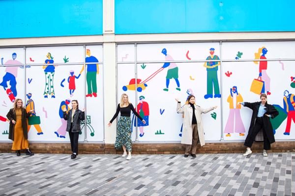 Launching Kingston Canvas with Kingston School of Art