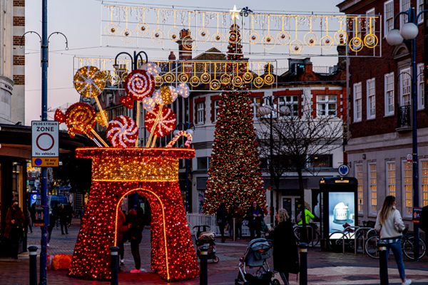 Discover Kingston's new Christmas lights