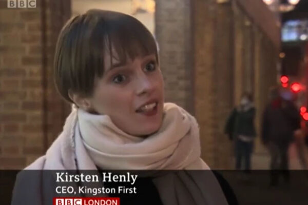 Kingston First featured on BBC London News