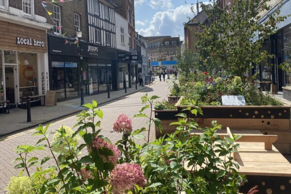 'Social Spaces' arrive in the town centre